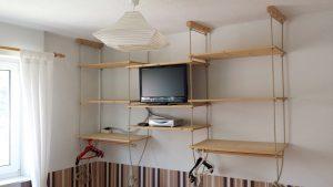 Fernseher im Schafzimmer